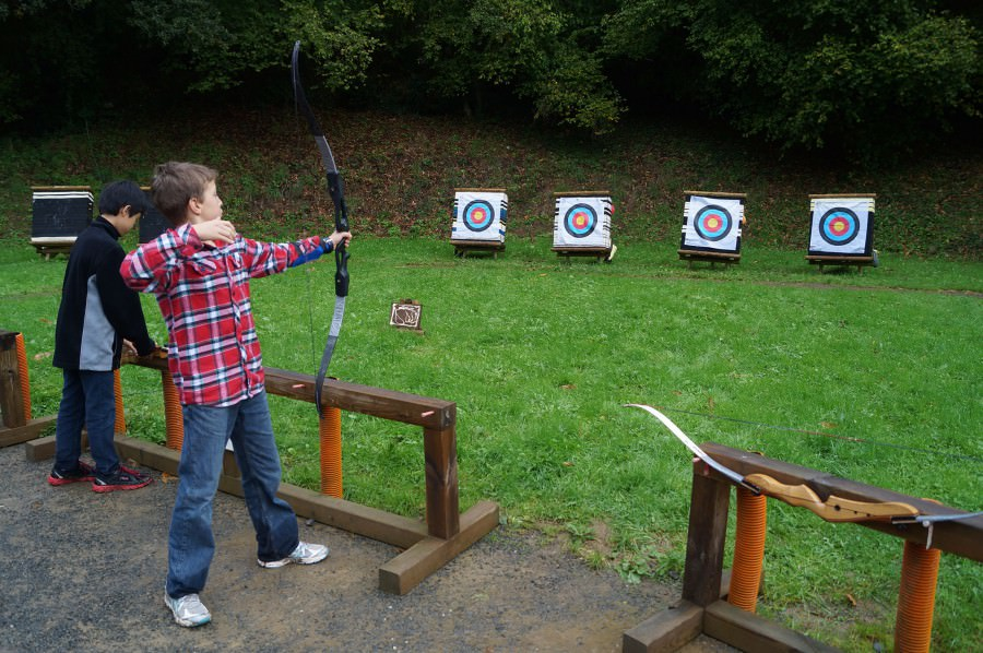 Activities at The Château - Archery